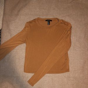 Long sleeve forever 21 fitted shirt